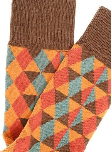 Pixter&Bro Soket Çorap Hardal